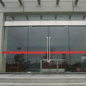 FRAMELESS TEMPERED 안전 STOREFRONT GLASS DOOR