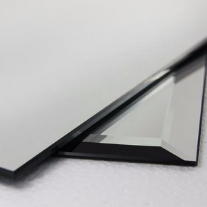 FRAMELESS BEELELED ALUMINUM GLASS MIRROR